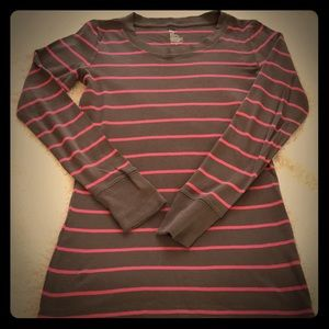 GAP striped long sleeve t shirt.